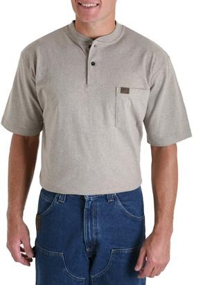Riggs Workwear Men's Big & Tall Short Sleeve Henley