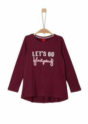 S'Oliver Girls' 53.909.31.8955 Longsleeve T-Shirt