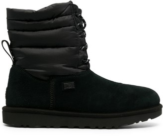 UGG x STAMPD lace-up boots