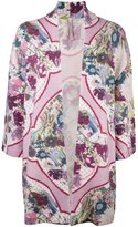 Antonio Marras floral open front cardigan