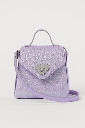 H&M Glittery Shoulder Bag - Purple