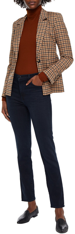 Thumbnail for your product : J Brand Ruby High-rise Slim-leg Jeans