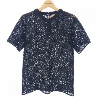 N°21 N21 Navy Cotton Top for Women
