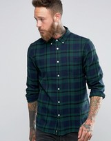 Edwin Flannel Plaid Shirt