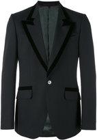 Gucci Heritage peacock blazer - men - Silk/Viscose/Mohair/Wool - 50