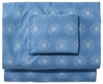 L.L. Bean 280-Thread-Count Pima Cotton Percale Sheet Set, Print