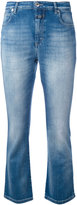 Closed bootcut cropped jeans - women - Cotton/Polyester/Spandex/Elastane - 26