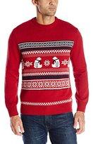 Dockers Polar Bear Crew-Neck Holiday Party Sweater