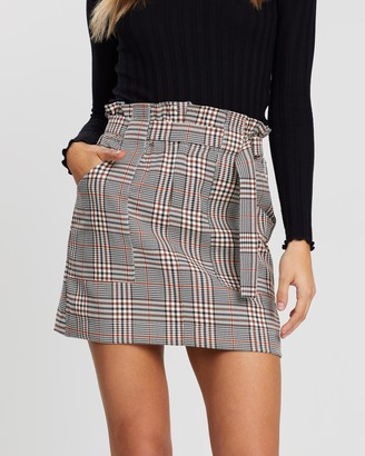 Atmos & Here Lola Belted Skirt
