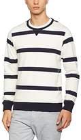 Scotch & Soda Men's Home Alone Crew Neck Sweat Sweatshirt