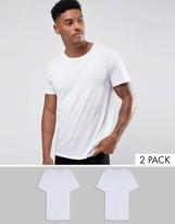 G Star T-Shirt In 2 Pack White