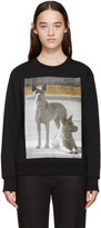 Palm Angels Black Dogs Sweatshirt