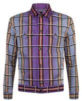 J.w.anderson Check Denim Shirt