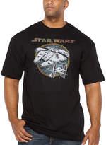 Star Wars Starwars Battleship Short Sleeve Graphic T-Shirt-Big and Tall