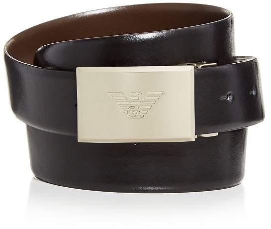 775e105c Men's Plaque Leather Belt - ShopStyle