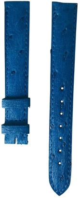Cartier Blue Exotic leathers Watches