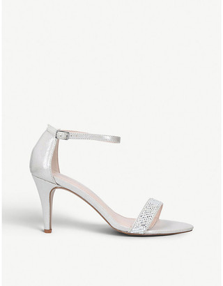 Carvela Kink gemstone-embellished textile sandals