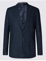 M&S Collection Big & Tall Linen Rich Regular Fit Jacket