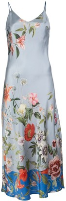Madison.Maison Lynn floral-print silk dress