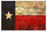 PTM Images Vintage Texas Flag Giclee Box Wall Art - 20x30