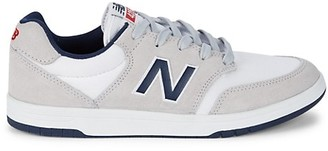 New Balance Logo Suede Sneakers