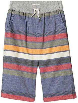 PEEK Noah Stripe Pull-On Shorts (Toddler/Little Kids/Big Kids) (Stripe) Girl's Shorts