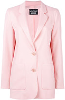 Moschino two button blazer - women - Other fibres/Virgin Wool - 40