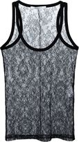 Givenchy floral lace vest top