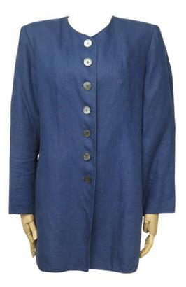 Hermes Blue Linen Jackets
