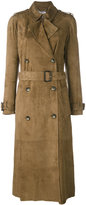 Desa 1972 - belted trench coat - women - Leather - 40