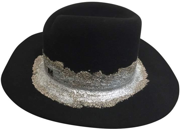 Maison Michel Glitter hat