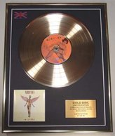 NIRVANA/Cd Gold Disc Record Limited Edition/IN UTERO