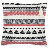 Lulu Ondine Ash Coral Stripe Cushion