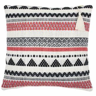 Lulu Coral Stripe Cushion