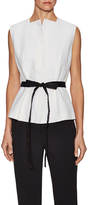 Narciso Rodriguez Cotton Belted Vest