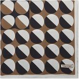 Tom Ford Geometric printed silk pocket square