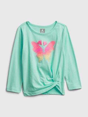Gap Toddler Butterfly Twist T-Shirt
