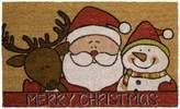 "Mohawk Home Santa's Hug ""Merry Christmas"" Coir Doormat - 18"" x 30"""