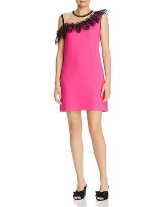 Nha Khanh Asymmetric Illusion Dress