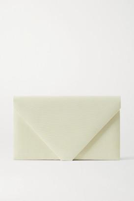 Hunting Season Envelope Lizard Clutch - Cream