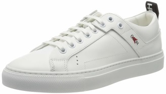 HUGO BOSS Women's Mayfair Low Cut-nlg 10201909 01 Top Sneakers