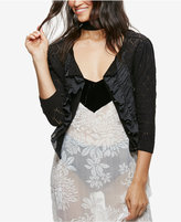 Free People Tiny Dancer Flutter-Front Illusion Cardigan