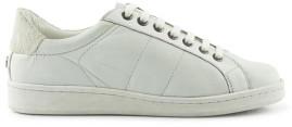 Maruti Nena White Monochrome Trainers - 38 - White