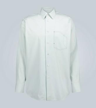 Jil Sander Cotton long-sleeved shirt