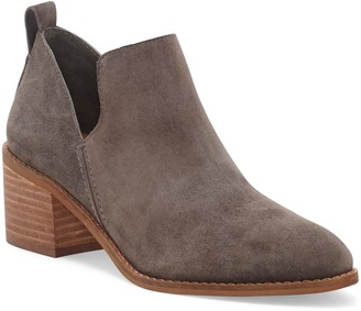 1 STATE Idania Leather Block Heel Bootie