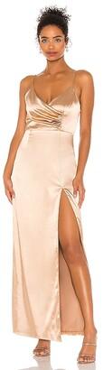 superdown Adrena Slit Maxi Dress