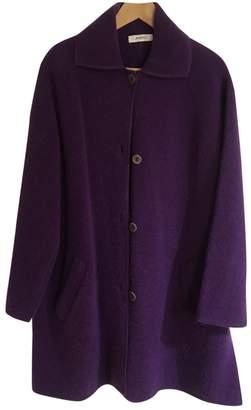 Rodier Purple Wool Coat for Women