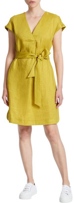 Marcs Feeling Bright Linen Dress
