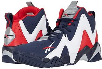 Reebok Kamikaze II (Vector Navy/White/Vector Red) Men's Shoes