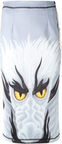 J.W.Anderson dragon print skirt - women - Polyester/Spandex/Elastane - 10
